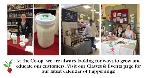 Littleton Co-op classes & events